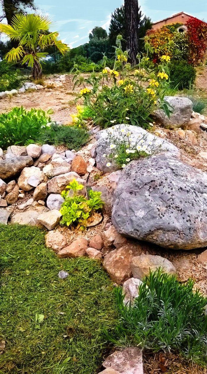 Jardin mediterranéen et eau !